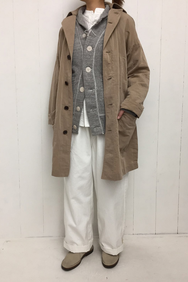 MHQ DECK JACKET × UNRIVALED SHIRTS STAND style