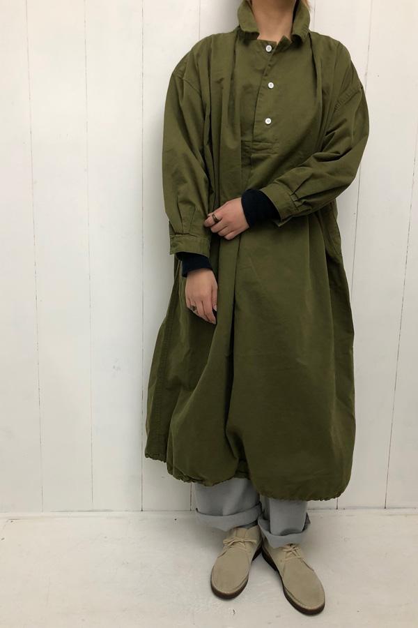 タック ボリュームワンピ × ビッグチノ style