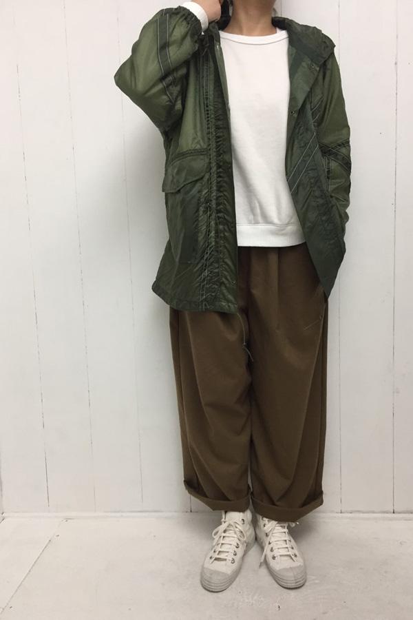 remake M-51 × ワイドパンツ style