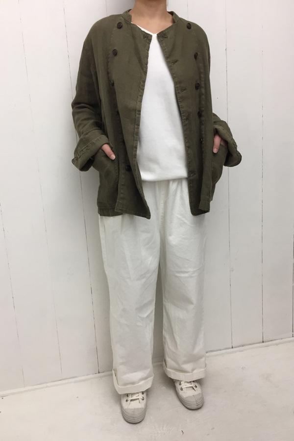 パティシエジャケット × ファムイージーパンツ style