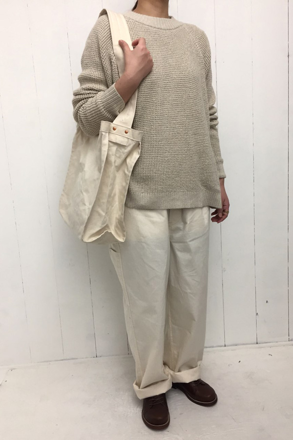 COTTON KNIT PULLOVER style