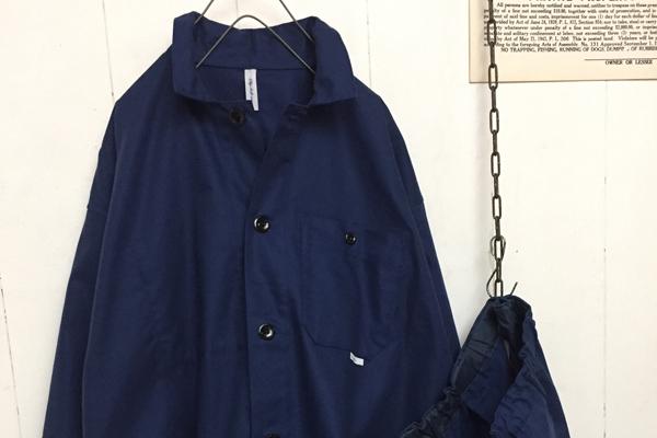 フレンチ シャツジャケット
