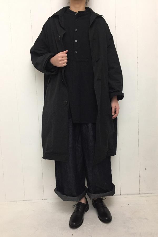 MAVIS COAT × スタンドカラー タックスモック style