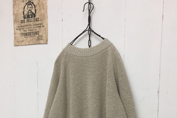 COTTON KNIT PULLOVER