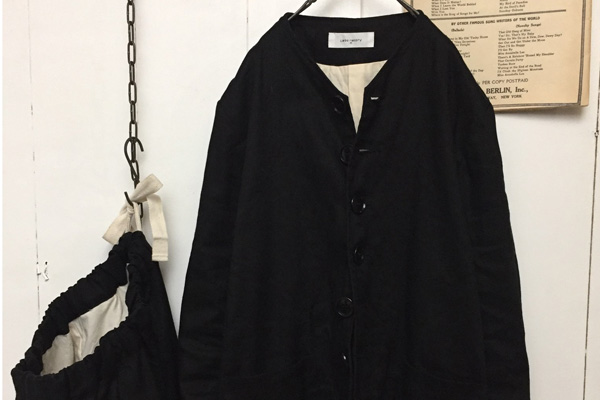 ANONYMOUS NO COLLAR JACKET