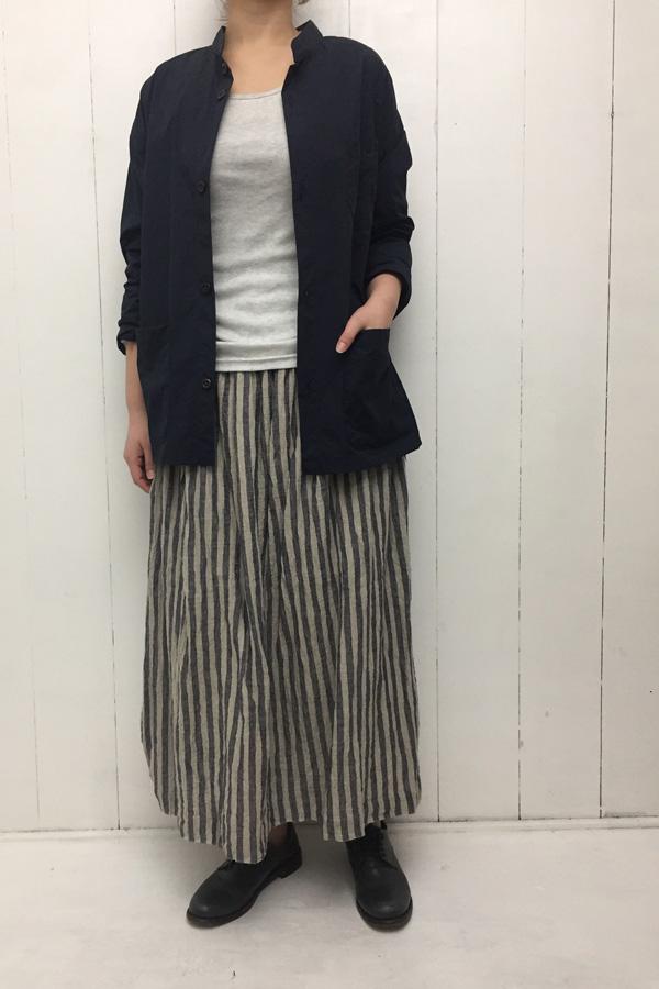 水撚り STRIPE スカート style