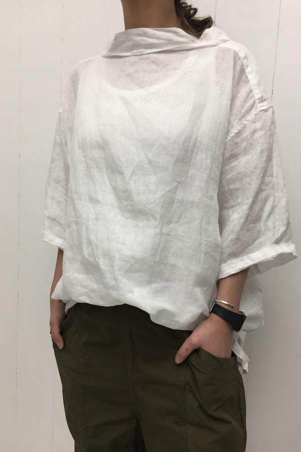 OVER SHIRTS × ガーデンパンツ style