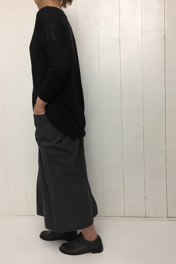 LINEN カーディガン style