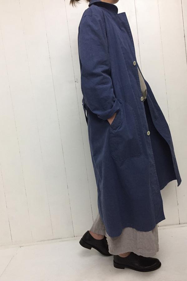 WASH OVERDIE コート × ドッキング タンクトップ style