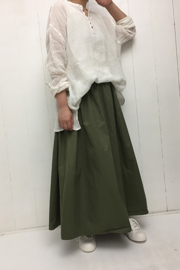LINEN VOILE PULLOVER style