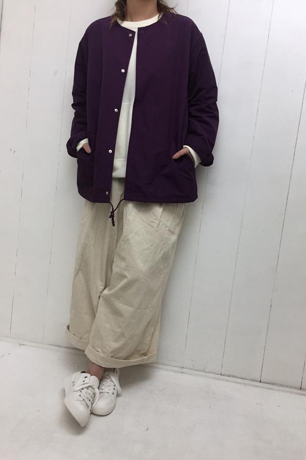 マウンパグログラン ノーカラーシャツ style