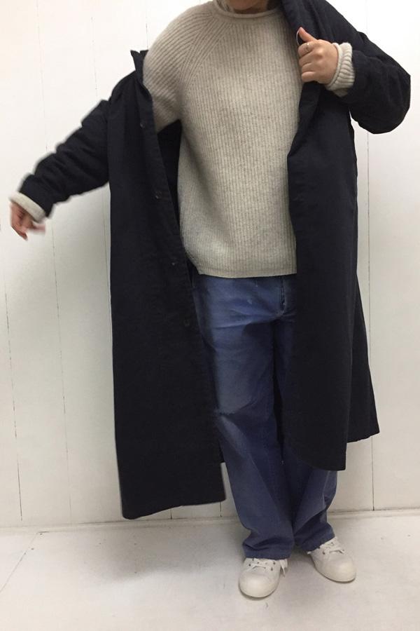 オーバーコート × 2way KNIT style