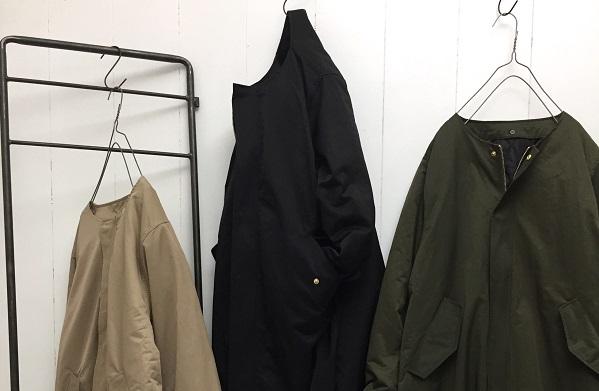 NYLON TWILL long coat