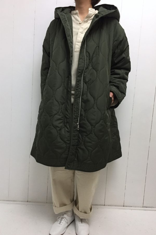 QUILTING long jacket style