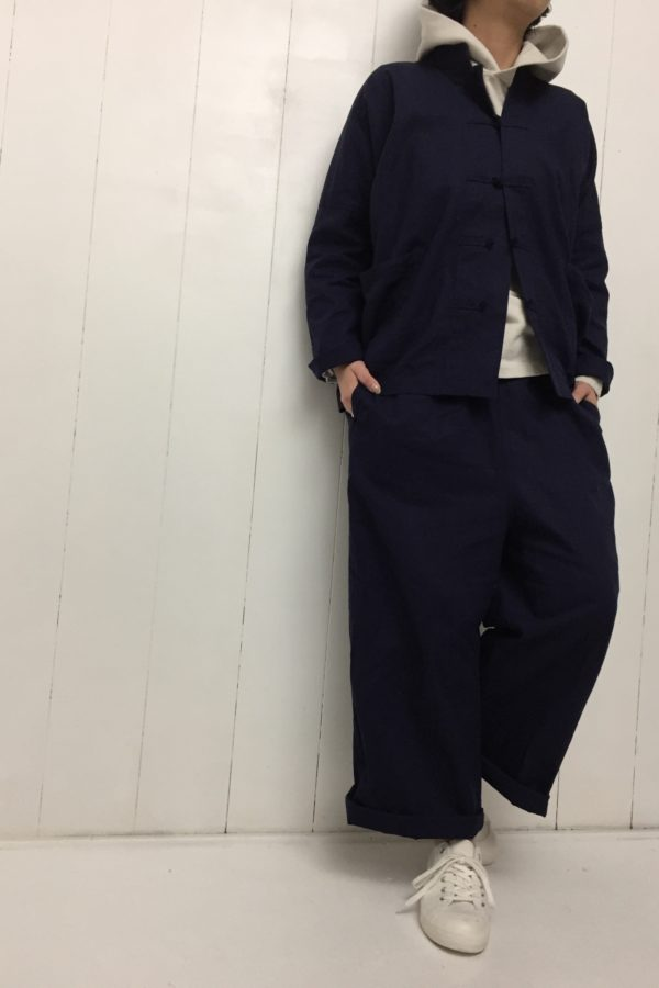 CHINA JACKET × EASY PANTS style