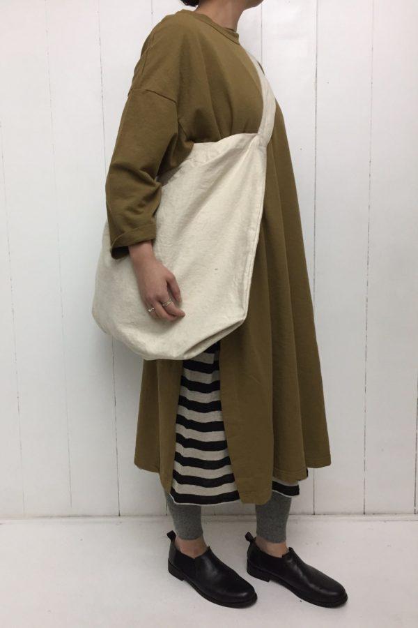 スリットワンピース × BORDER DRESS style
