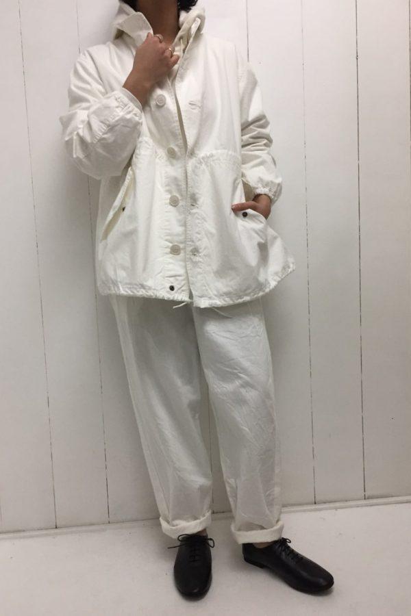 フィールドジャケット × イージーパンツ style
