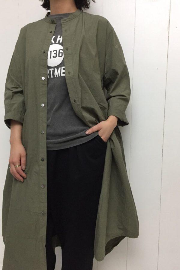 サイドタックワンピース × PRINT-T style