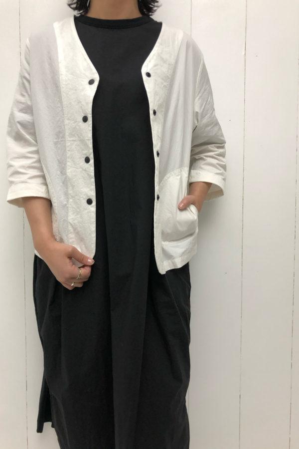 ノーカラージャケット style