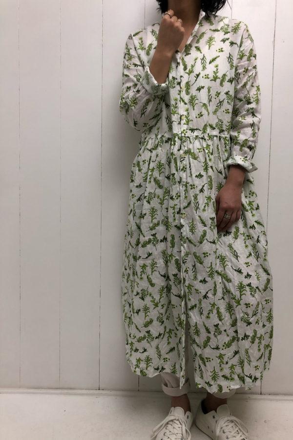FLORAL PATTERN DRESS style
