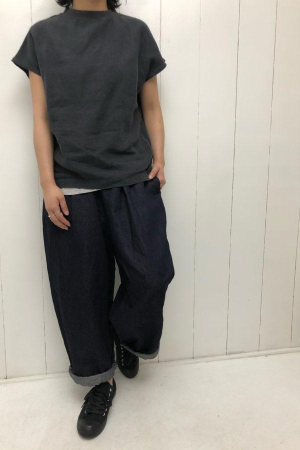 ボトルネック プルオーバー × KUNG FU PANTS style