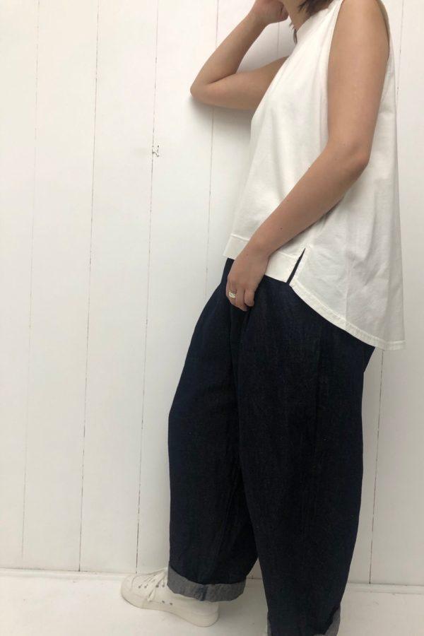 前後差切替タンク × KUNG FU PANTS style