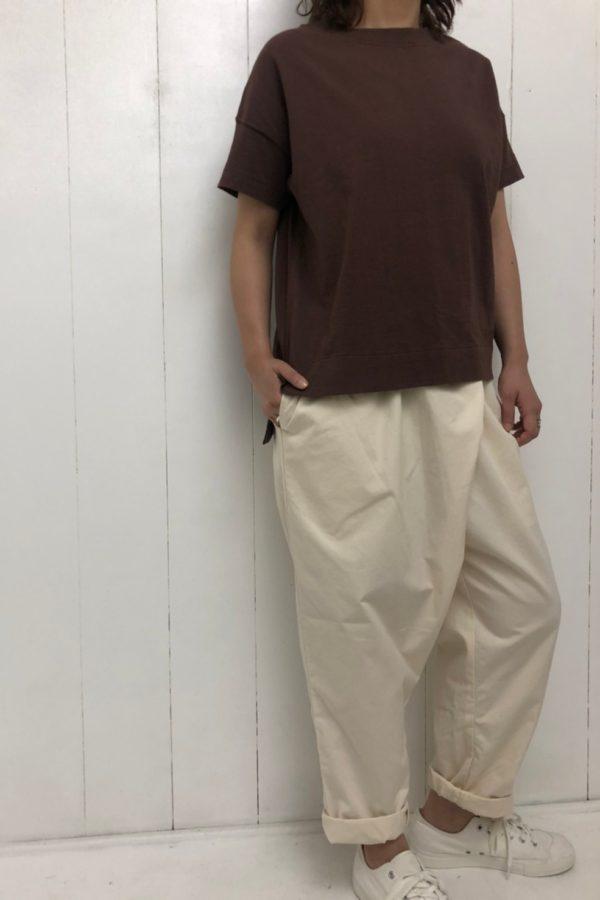 スリットワイドプルオーバー × TWIST PANTS style