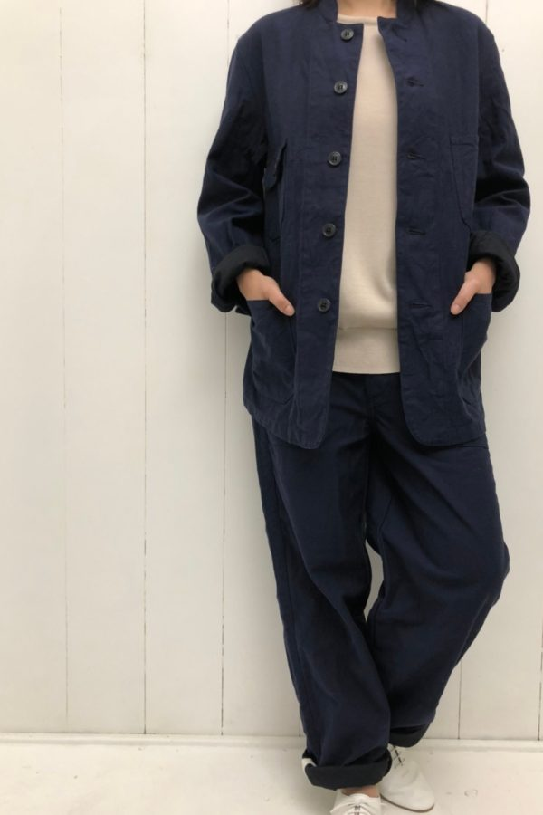 TOMAS PANTS × COVERALL style
