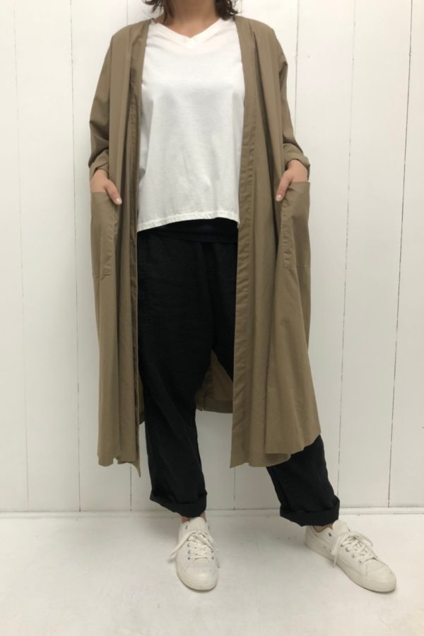 ベルテッドコート style