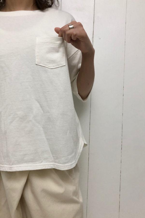 ポケットワイドTシャツ × TWIST PANTS style