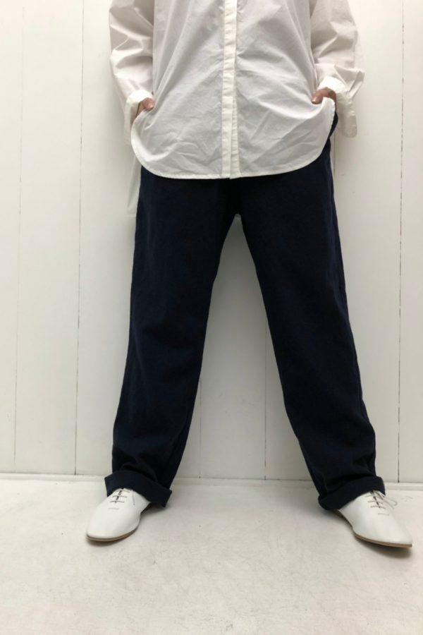 ウール綾織 パンツ style