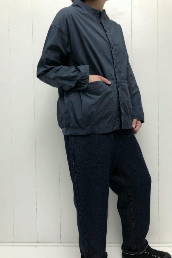 コクーンシャツ × サルエルパンツ style