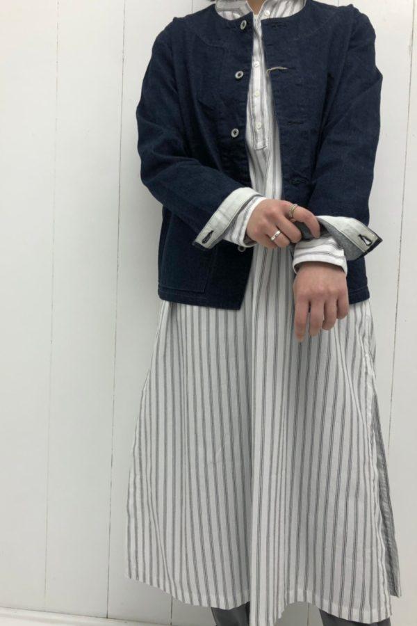 デニム レイルロードジャケット style