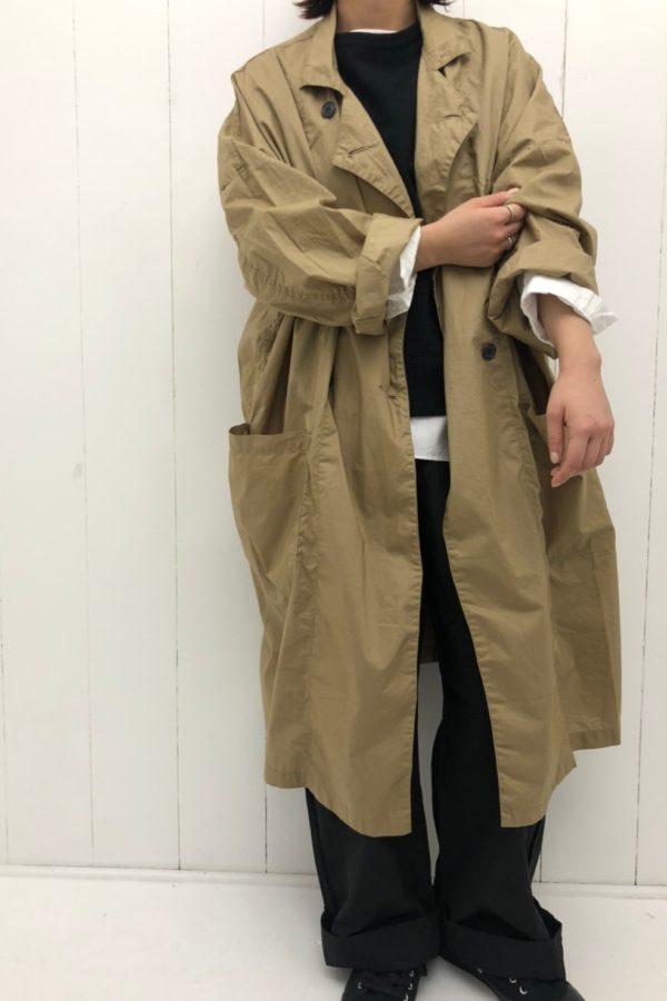 STORE COAT × アトリエパンツ style