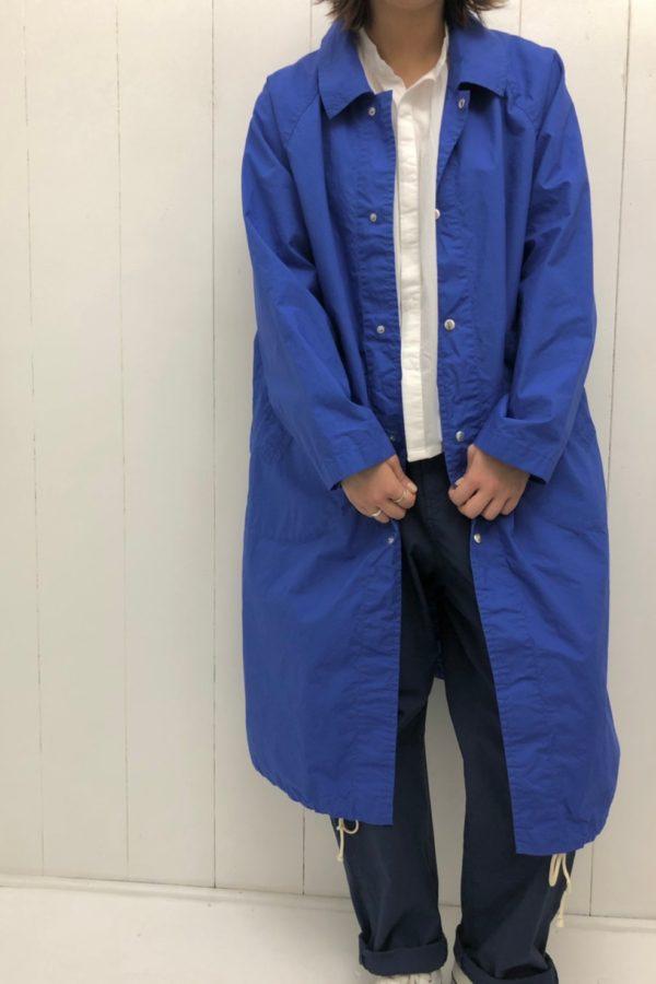 スプリングコート × ピンタックブラウス style
