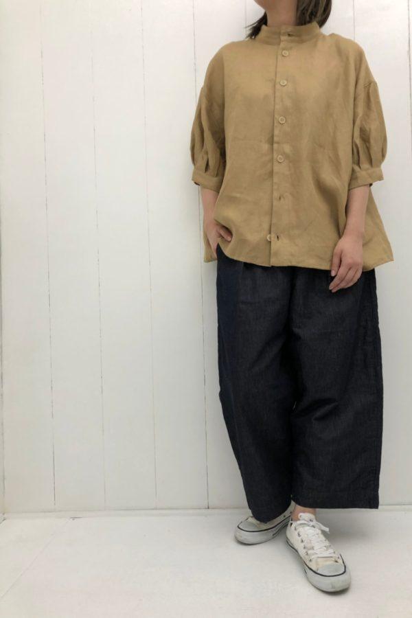 アンフェルミエシャツ × グランクールトラウザー style
