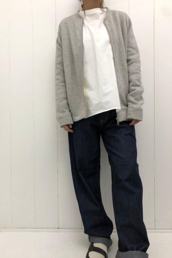ブロード 切替ロングTee × LABO DENIM type1 style